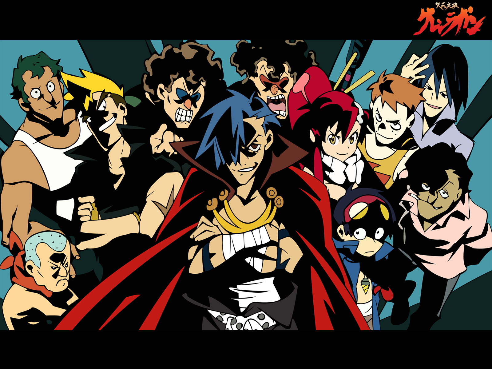 Tengen Toppa Gurren Lagann Wallpaper. Tagged tengen on x anime wallpaper